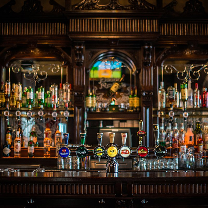 Paddys Zurich Main Bar