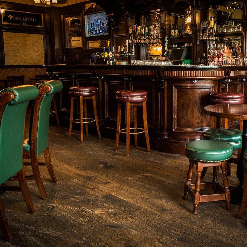 Paddys Zurich Bar Area